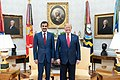 President Trump Meets with the Amir of Qatar (48244263811).jpg