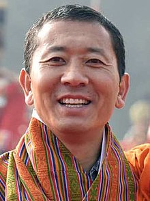 Prime Minister of Bhutan Dr. Lotay Tshering on December 28, 2018 (cropped).jpg
