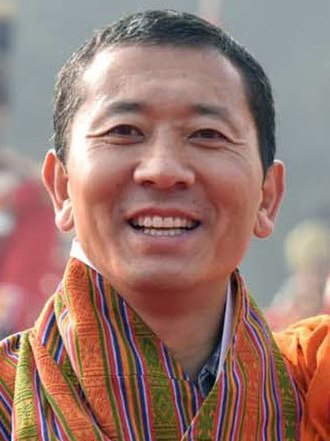 Lotay Tshering - Image: Prime Minister of Bhutan Dr. Lotay Tshering on December 28, 2018 (cropped)