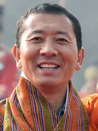 Prime Minister of Bhutan Dr. Lotay Tshering on December 28, 2018 (cropped)