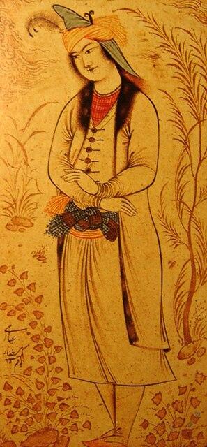 Prince Muhammad-Beik by Reza Abbasi