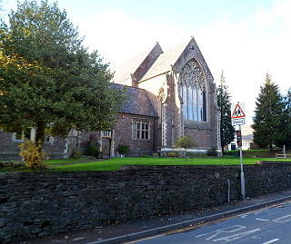 Church of Our Lady and St Michael, Abergavenny Church in Monmouthshire, Wales