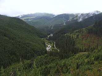 Bukovina - Prislop Pass, connecting Maramureș with Bukovina in northern Romania