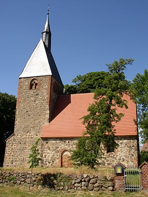 Pritzwalk - Church in Sarnow