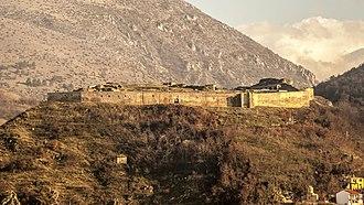 Prizren - The Fortress of Prizren.