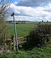 Public footpath to South Croxton - geograph.org.uk - 762140.jpg