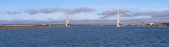 Guadiana International Bridge - Image: Puente Internacional 395