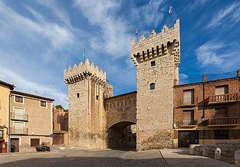 Puerta Baja, Daroca, Zaragoza, España, 2014-01-08, DD 07