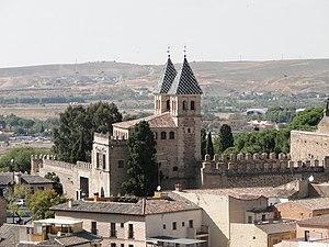 Puerta de Bisagra Nueva - Image: Puerta Vieja de Bisagra, Toledo