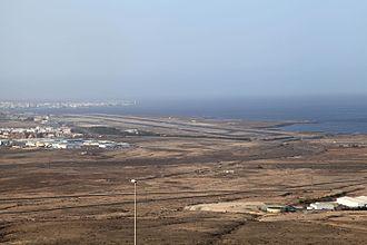Fuerteventura Airport - Aerial view