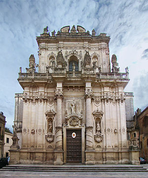 Lecce - Church of San Giovanni Battista
