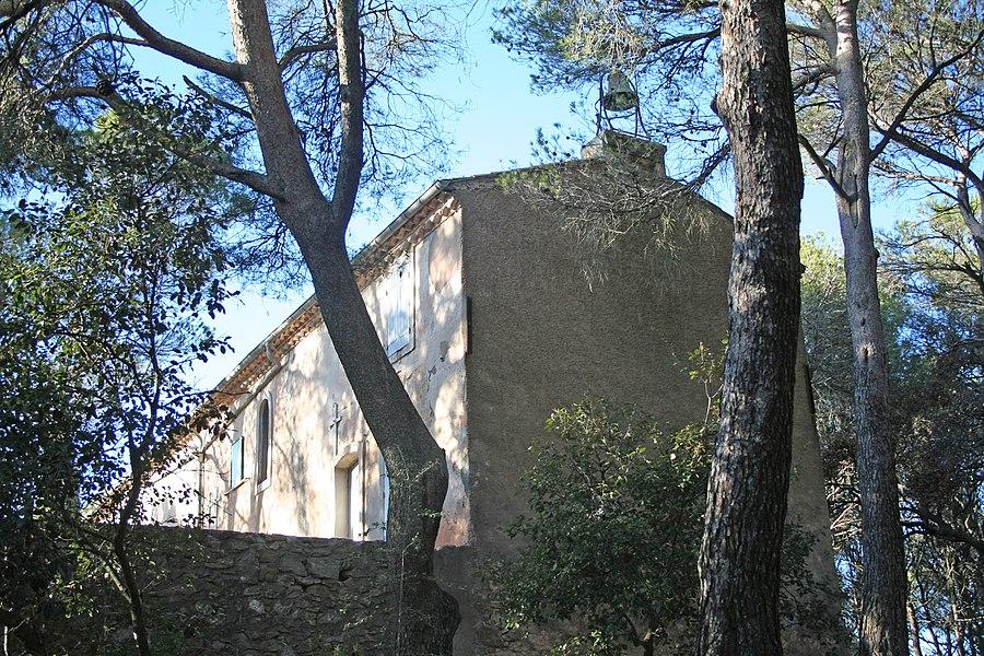Puisserguier (Hérault) - chapelle Saint-Christophe.