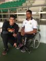 Pushan with Para-Shooter Deepak Saini.png
