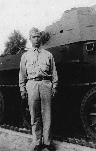 Joseph Burlazzi - PVT Burlazzi sometime after Basic Training at Fort Devens MA