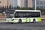 Qingdao Development Zone Bus 2 - Sunwin - SWB6121EV5 (Wheelchair Accessible Low-entrance) - ChangJiang Road (Middle) (16536373810).jpg