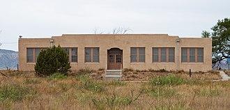 Quay, New Mexico - Former Quay School