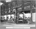 Queensland State Archives 3421 Rocklea workshops vertical end planer Brisbane 7 April 1936.png