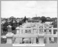 Queensland State Archives 3458 South approach piers and tie beams of reinforced concrete girder construction Brisbane 1 March 1937.png
