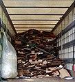 Récup plastiques, cartons supérette lille Recycling in France.jpg