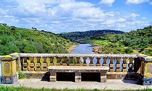 Ardila - Ardila River. Moura, Portugal