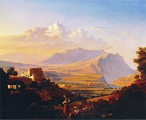 Landscape from Subiaco