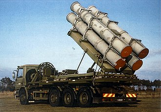 Allied Forces Baltic Approaches - Danish mobile Harpoon anti-ship missile launcher