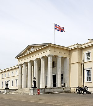 Royal Military College, Sandhurst - Old College building at Sandhurst