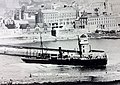 RMS Ellan Vannin pictured passing the Red Pier, Douglas..JPG