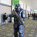 RTX 2014 - Halo Spartan cosplay (14395517538).jpg