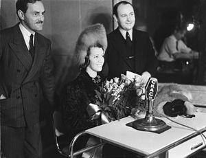Lily Pons - Lily Pons at CKAC, Montreal, 1939