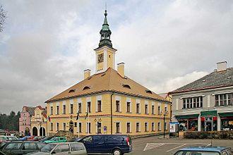 Žamberk - Image: Radnice v Žamberku