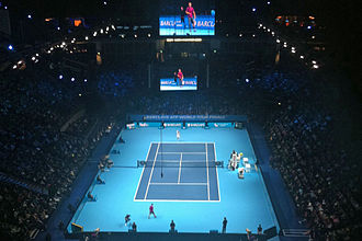 2011 ATP World Tour Finals - Singles play on the O2 Arena during the 2010 event
