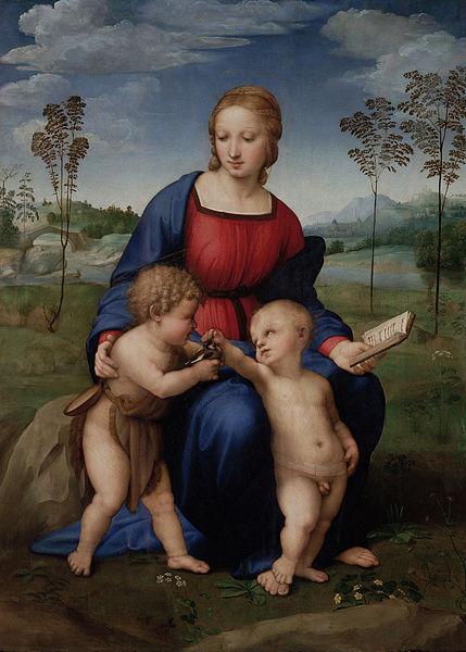 Archivo: Raffaello Sanzio - Madonna del Cardellino - Google Art Project.jpg