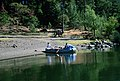 Raft on River Bank, Rogue River-Siskiyou National Forest-2 (36793113100).jpg