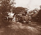 Railways and Tramways of Việt Nam - Annam - Tourane, 1906, Tramway Tourane-Faifo - Le Train en gare, Fonds Sallet (Flickr 50179298566).jpg