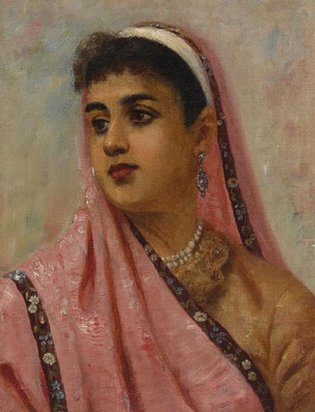 File:Raja Ravi Varma, The Parsee Lady.jpg