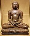 Rajastan, jina, bronzo argentato, X-XI secolo.jpg