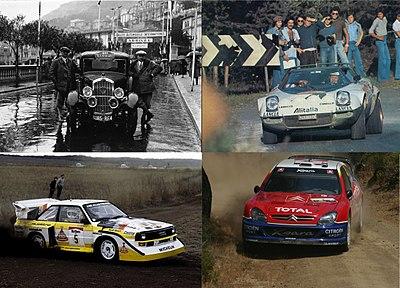 Rallyes y circuitos todas las epocas