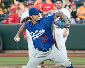 Baltimore Orioles minor league players - Ralston Cash with the AA Tulsa Drillers