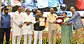 Ram Nath Kovind presenting the National Awards for Outstanding Services in the field of Prevention of Alcoholism and Substance (Drugs) Abuse (4).JPG