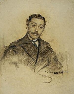 Fernando Álvarez de Sotomayor y Zaragoza - Fernando Álvarez de Sotomayor by Ramon Casas (MNAC)