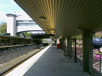 Ramsey Route 17 station - Image: Ramsey Route 17 train station
