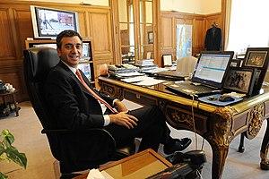 Florencio Randazzo - Randazzo at his desk