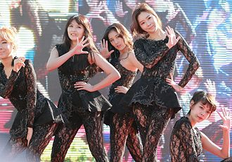 BP Rania - Rania performing at the Hyosung Angel Village Festival, on October 4, 2013.
