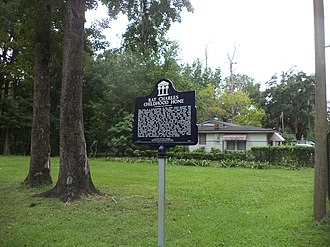 North Florida - Located in North Florida is Ray Charles, American singer-songwriter, musician, and composer's childhood home, Greenville, Madison County, Florida.