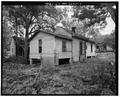 Rear and west side view of 304 East Jefferson Street - 304 East Jefferson Street (House), Sumter, Sumter County, GA HABS GA,131-AMER,9-3.tif