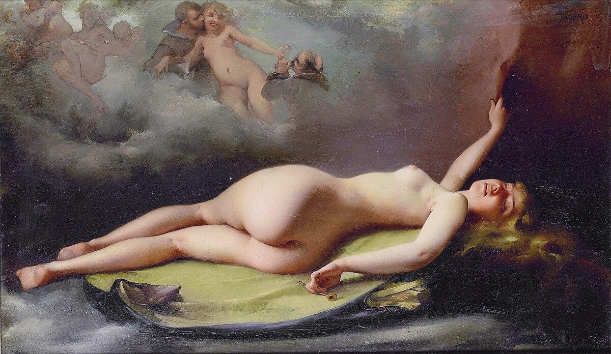 Reclining nude, by Luis Ricardo Falero.jpg
