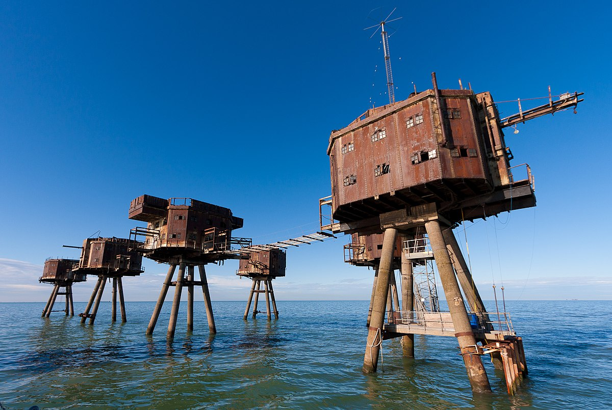 Image result for maunsell forts