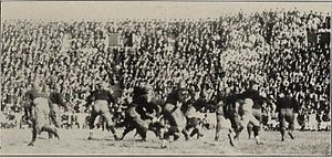 Gil Reese - The Wolverines chasing after Reese in 1922.