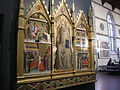 Refettorio santa croce, giovanni del biondo, san giovanni gualberto e scene della sua vita.JPG